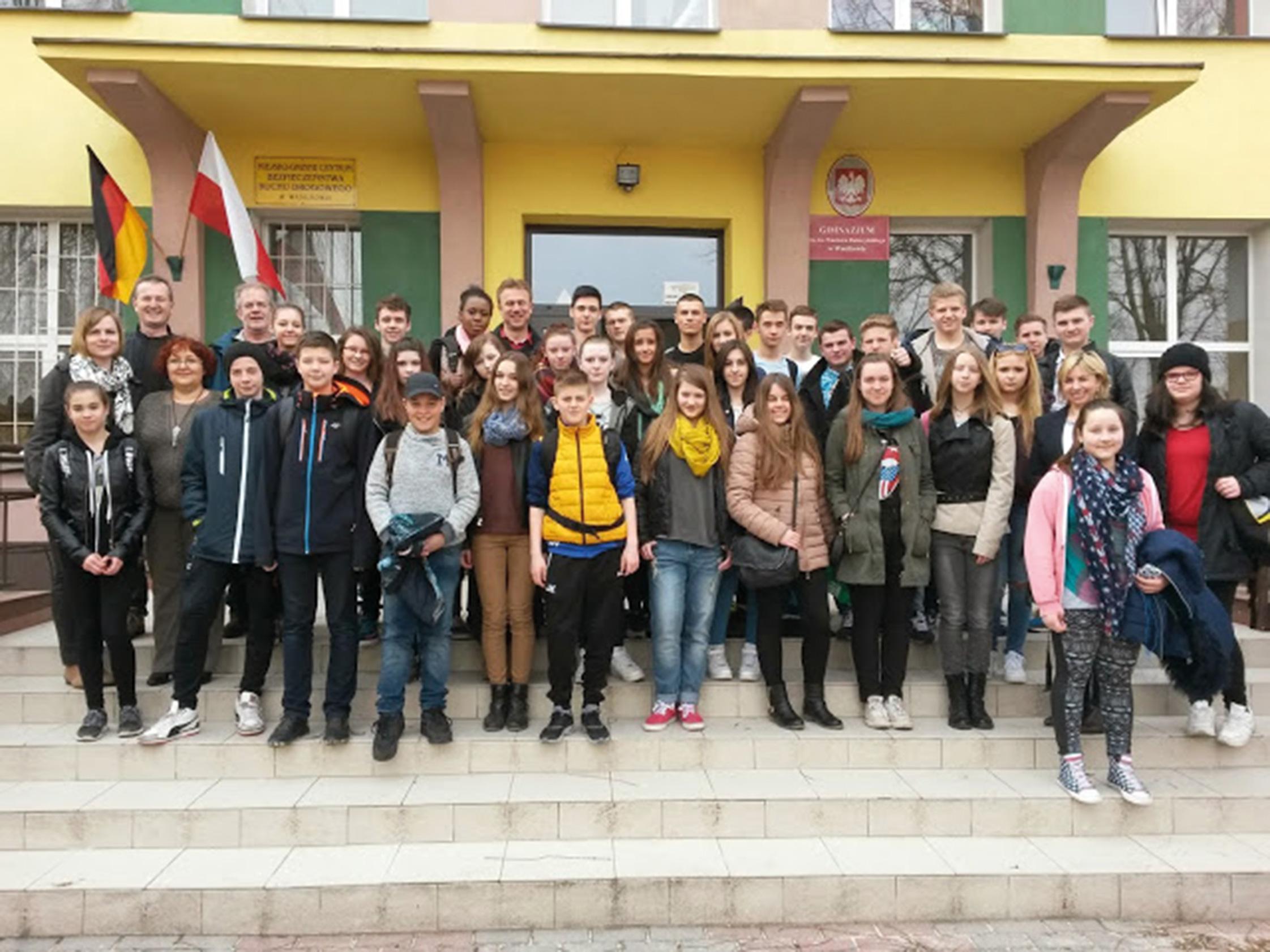 Parkschüler zu Gast in Polen