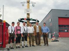 Einige der Aktiven des mitgliederstarken Traditionsvereins, mit ihrem Vorsitzenden Klaus Oßwald (Dritter von links)